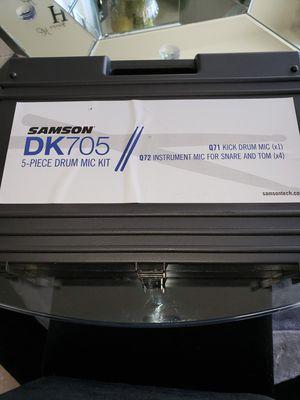 Brand new Samson dk705 5 piece drum mics for Sale in Worthington, OH
