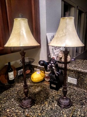 Table Lamps with 2 Sets of Shades for Sale in DeLand, FL