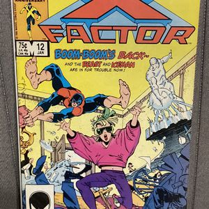 Marvel Comics X-FACTOR #12 Comic Book - First Print - Key Issue - First Appearance Of Fallen Angels - Famine - Rolfson!!! for Sale in Plainfield, IL