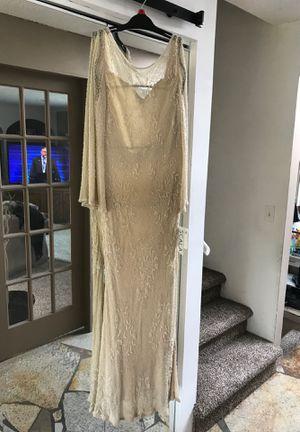 Size 8 to 10 xl Scala women's beaded wedding dress for Sale in Kent, WA