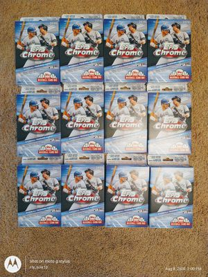 2020 Topps Chrome Hanger Boxes for Sale in PA, US