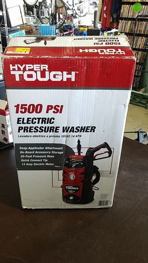 Hyper Tough 1500 PSI Electric Pressure Washer ( Ref#011980-LE ) for Sale in Phoenix, AZ