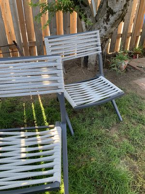 5 Patio Chairs from Target for Sale in Vancouver, WA
