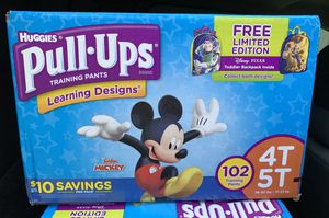 Huggies Pull-Ups 4T-5T-Disney Available for Sale in Nederland, TX