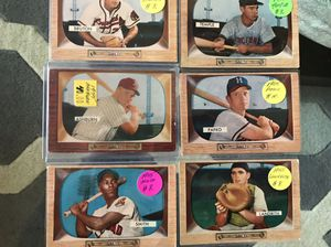 * (45) 1955 BOWMAN BASEBALL CARDS * RARE SET * VG-EX CONDITION * for Sale in Lafayette, CA