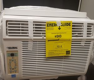GLOBAL 12000 BTU WINDOW AIR CONDITIONER for Sale in Los Angeles, CA