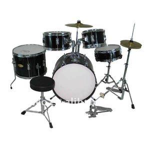 5-Piece Junior Drum Set with Brass Cymbals - Children Kid Starter Kit Visit $178.99* for Sale in San Jose, CA