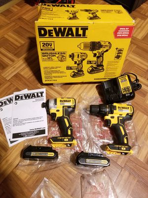 Dewalt Combo kit Drill and Impact Driver Brushless 20V for Sale in Norwalk, CA