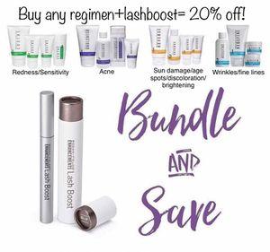 Lashboost AND skin regimen bundle! for Sale in Gilbert, AZ