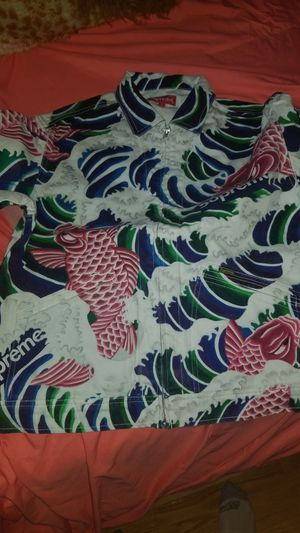 Supreme waves work jacket size L for Sale in IND CRK VLG, FL
