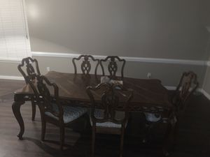 Antique Dining Room Set for Sale in Raleigh, NC
