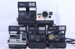 5 Polaroid instant cameras. $50 each for Sale in Delray Beach, FL