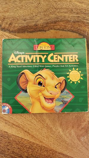 Lion King activity center for PC for Sale in Orange, CA