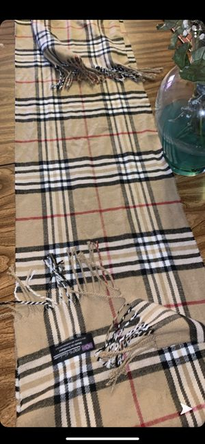 Burberry scarf for Sale in Seattle, WA
