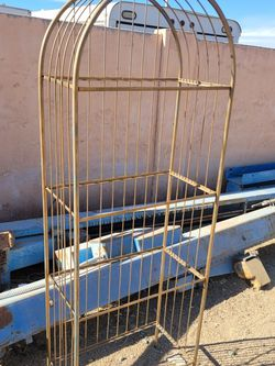 old metal shelf rack needs tlc amd shelves for Sale in Mesa,  AZ