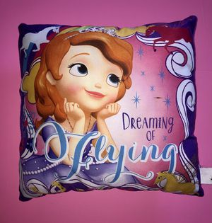 Sofia The First Accent Pillow for Sale in Queens, NY