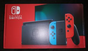 Nintendo Switch 32GB Console with Colored Joy‑Con Brand New Factory Sealed for Sale in Pasadena, TX