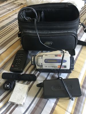 Sony digital handycam for Sale in Boston, MA