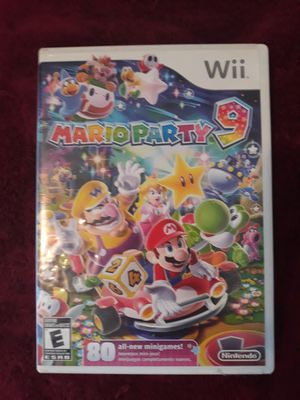 Mario Party 9 (wii) for Sale in Tampa, FL