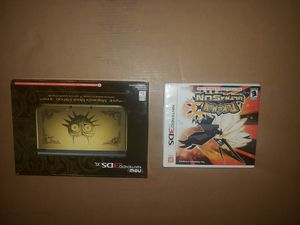 Nintendo New 3DS XL Legend of Zelda: Majora's Mask Limited Edition I GB Black.... Condition is New. Shipped with USPS Priority Mail. for Sale in Trenton, NJ