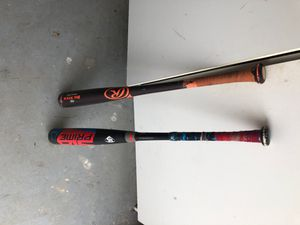 Baseball Bats for Sale! Sell or Trade for gym equipment. for Sale in FL, US