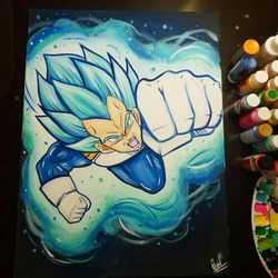 Vegeta Blue! By Quil - Dragonball Z for Sale in Tracy,  CA