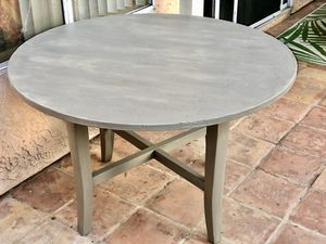 Grey Rustic Dining Table for Sale in San Diego, CA
