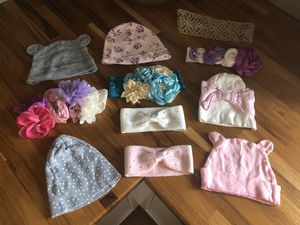 Baby headbands and hats for Sale in Colorado Springs, CO