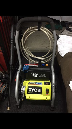 Ryobi pressure washer 1,700 psi for Sale in South Gate, CA