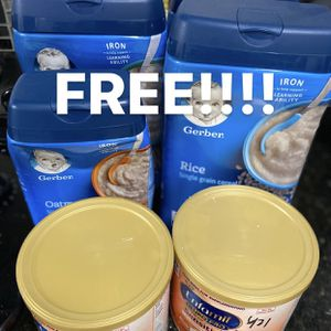 Free Baby Cereal And Formula for Sale in Norwalk, CA