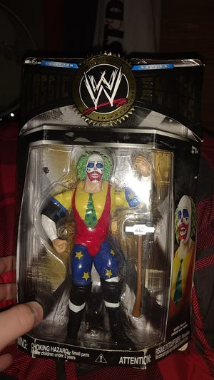 Doink the Clown, WWE Classic Super Stars Collection Action Figure for Sale in Rome, NY