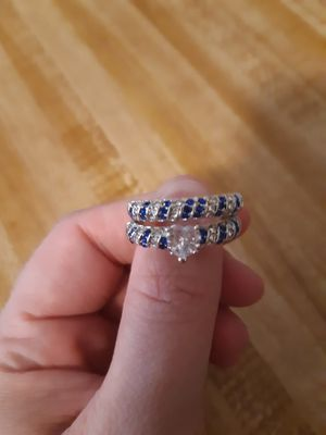 Women's size 10 wedding ring set for Sale in Cache, OK