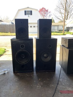 Pioneer speakers, subwoofer, and receiver. for Sale in Newport News, VA