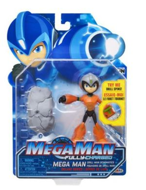 MegaMan Fully Charged - Drill Man Action Figure for Sale in Tacoma, WA