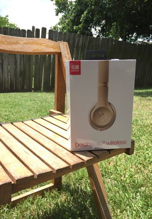 Beat Solo 3 Wireless Headphones- Sealed for Sale in Houston, TX