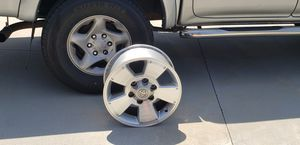 4 Toyota Tacoma chrome wheels /rims. Fits tire size 265/ 70 R16. I bought new black ones for my truck. So I do not need them. Make an offer. for Sale in Diamond Bar, CA
