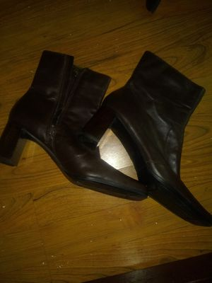 Brown leather boots womens for Sale in Oak Creek, WI
