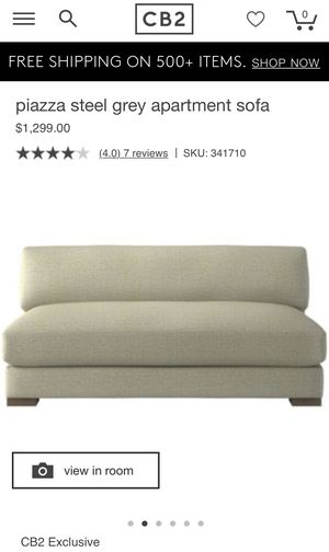 Used CB2 couch for Sale in Chicago, IL