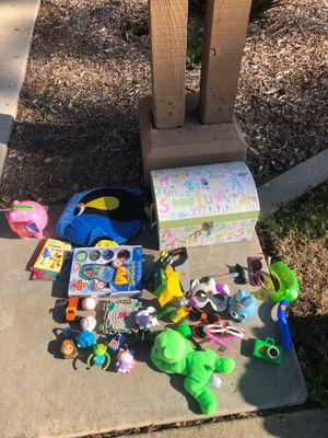 Miscellaneous kids toys and chest for Sale in San Diego, CA