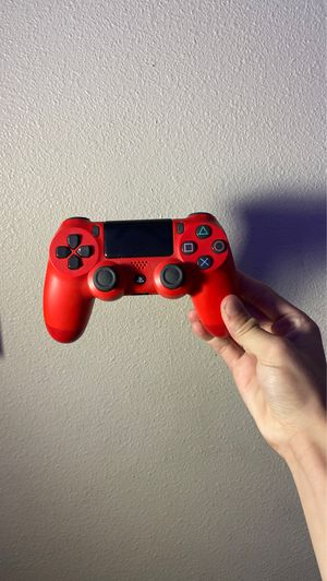 Red PS4 Controller for Sale in Taylorsville, UT