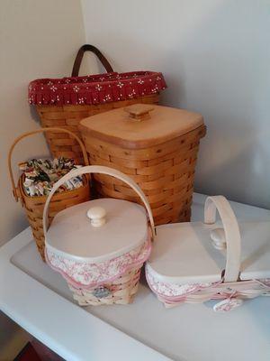 Longaberger baskets for Sale in Dallas, GA