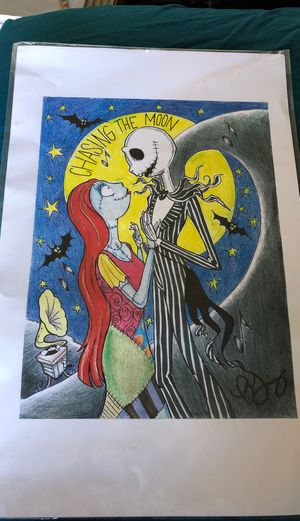 Nightmare before Christmas artwork for Sale in Rialto, CA