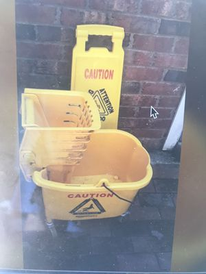 Mop bucket for Sale in Raleigh, NC