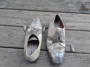 Size 7.5m genuine snake and leather upper shoes for Sale in Cleveland, OH