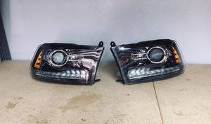 2013-2018 Dodge Ram Headlights Projectors Black for Sale in Grand Prairie, TX