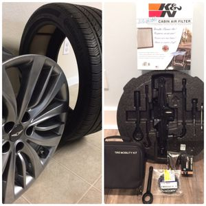"""Genesis 19"""" Wheel &Tire, K&N Cabin Filter (NEW), Wheel Change Kit and inflator (NEW), HID Bulb & More for Sale in Beaufort, SC"""