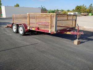 Car Trailer, Utility, Tandem Axle Trailer for Sale in Queen Creek, AZ