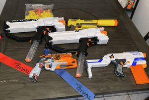 Nerf guns lot toys for Sale in Miami, FL