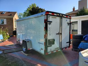 2001 pace american cargo sport Trailer 6 ft. x 12 ft. Enclosed Cargo Trailer for Sale in Palatine, IL