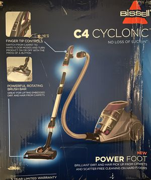 Bissell Cyclone 1233 C4 Canister Vacuum for Sale in Dallas, TX